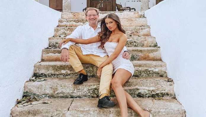 Andrés Roemer y Pamela Cortés