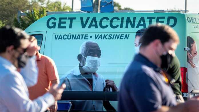Vacunación en Estados Unidos