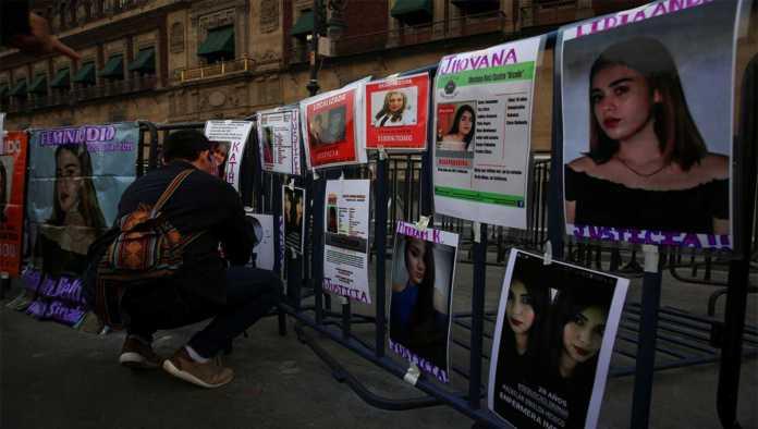 Protestas por los feminicidios perpetrados en México