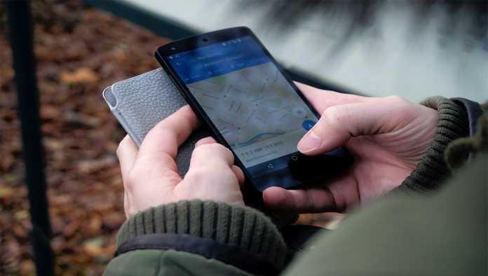Geolocalización en celular