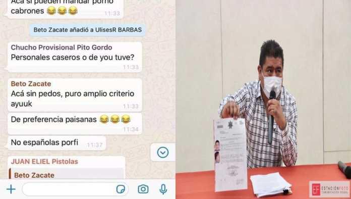 Chat de Humberto Santos
