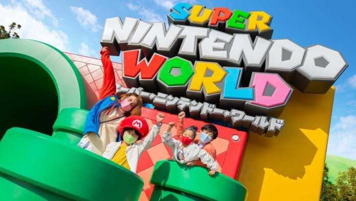 Inauguración Super Nintendo World