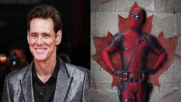 Jim Carrey y Deadpool