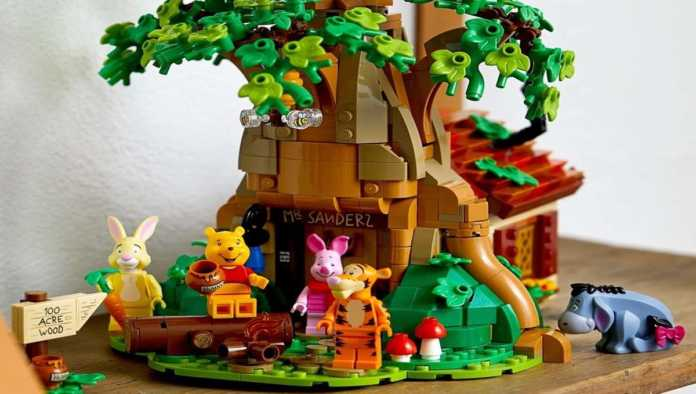 LEGO lanza el set de Winnie the Pooh para adultos