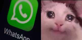 Meme por la caída de WhatsApp