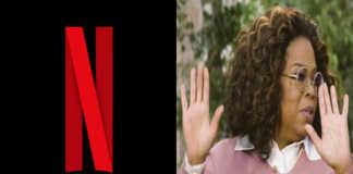 Logo Netflix y Oprah Winfrey