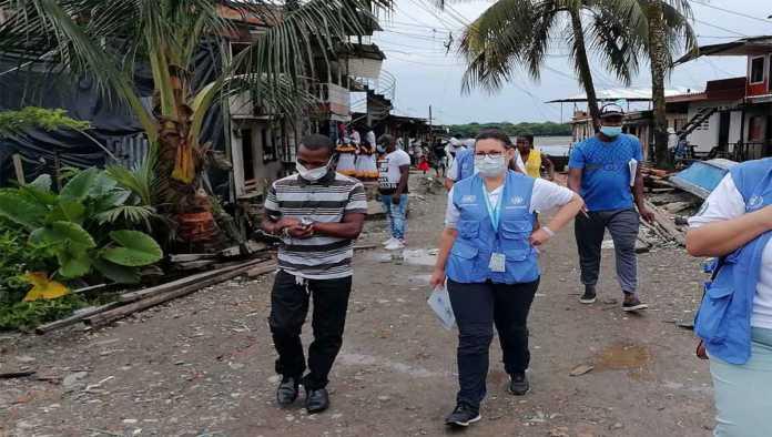 Personal de la ONU en misiones de paz