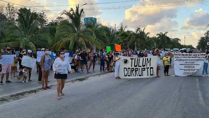 Protestas por el asesinato de Victoria
