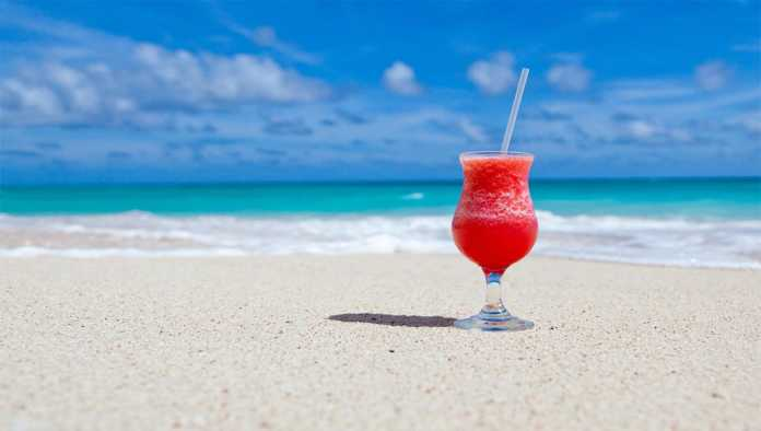 Cocktail en una de las playas