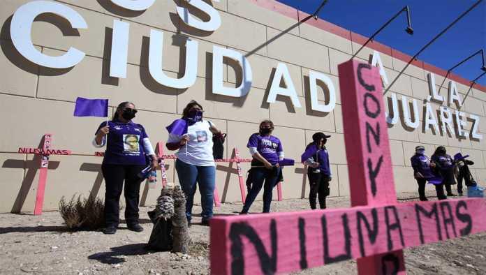 Protesta contra violencia de género