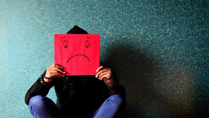 Cara de tristeza