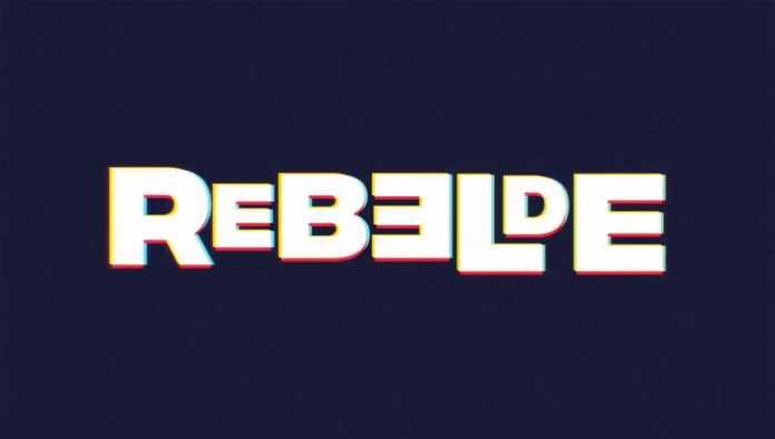 Póster de Rebelde, la nueva serie de Netflix