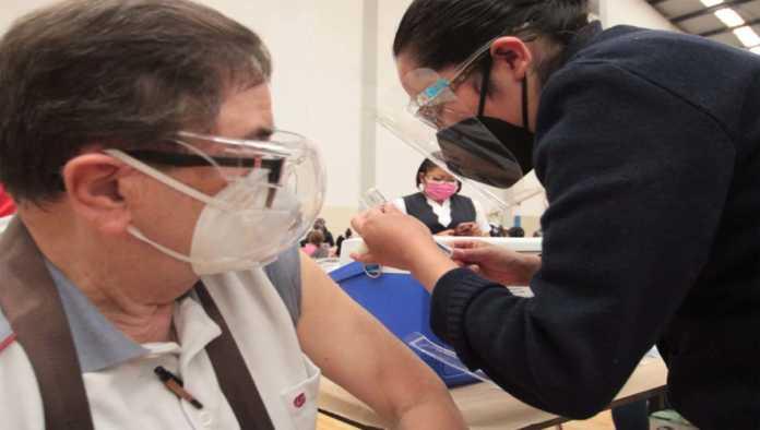 Segunda dosis de la vacunación en CDMX