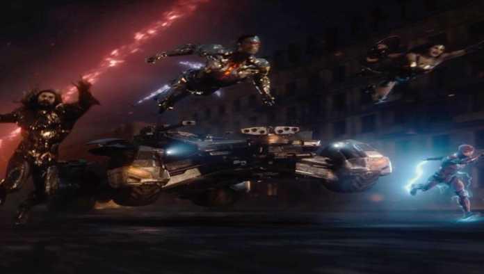 Escena de Justice League Snyder's Cut