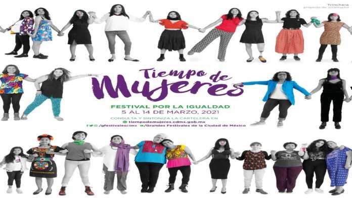 Póster del Festival Tiempo de Mujeres