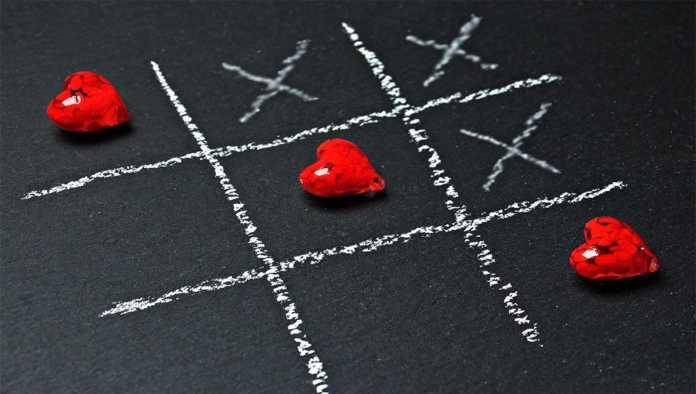 Metáfora de relación amorosa