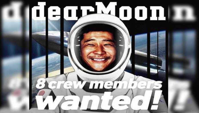 Millonario japonés busca ocho tripulantes que lo acompañen en su viaje a la Luna