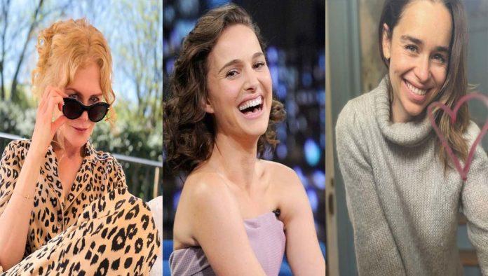 Nicole Kidman, Natalie Portman y Emilia Clarke