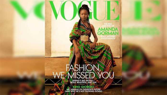 Portada de Vogue con Amanda Gorman