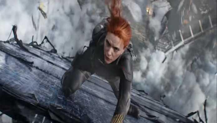 Escena de Black Widow