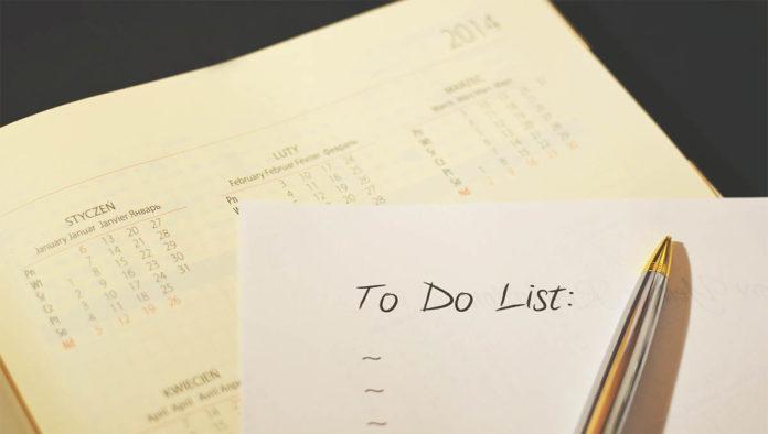 Lista de buenos hábitos