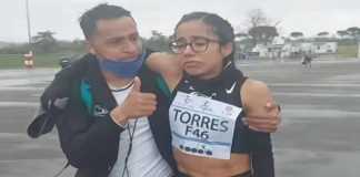 Daniela Torres, maratonista