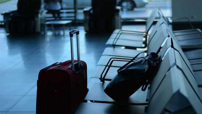 Mochilas en una terminal
