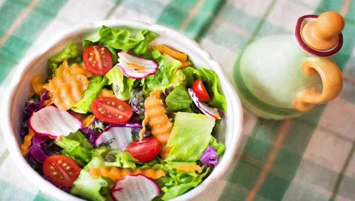 Plato de verduras