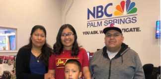 Elizabeth Esteban y su familia