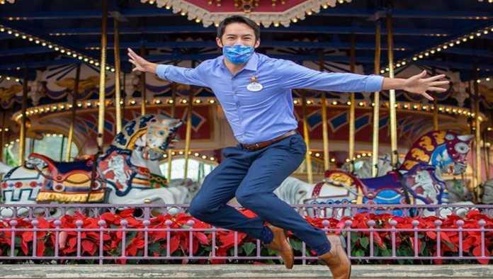 Uno de los trabajadores de Disney