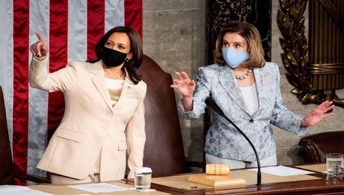 Kamala Harris y Nancy Pelosi