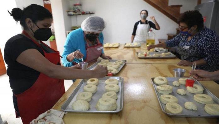 Las Panas, grupo de panaderas