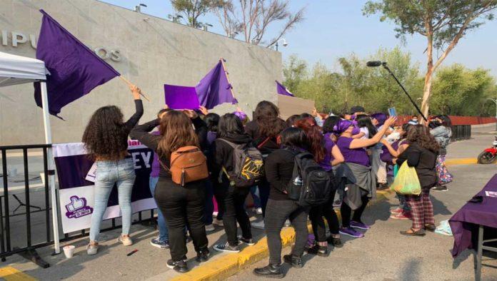 Protesta por Ley Olimpia