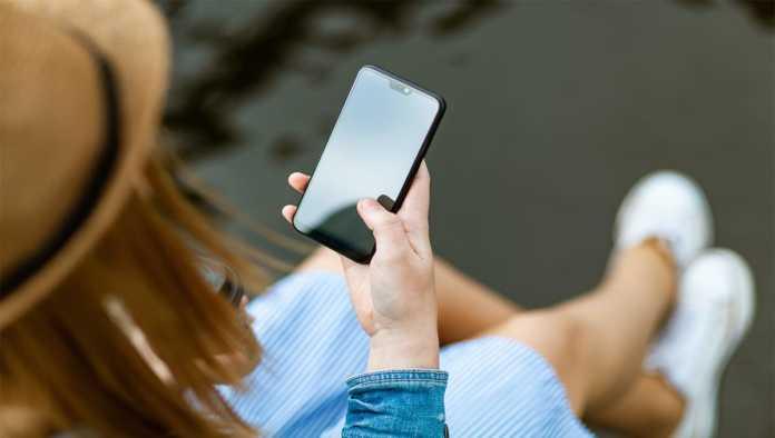 Un smartphone de LG