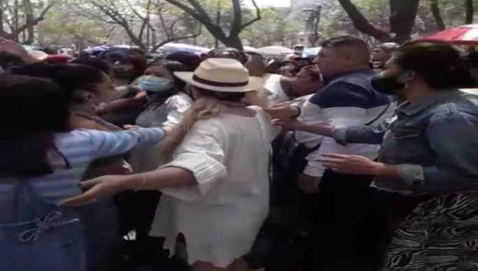 Enfrentamiento en Mercadita de Bellas Artes