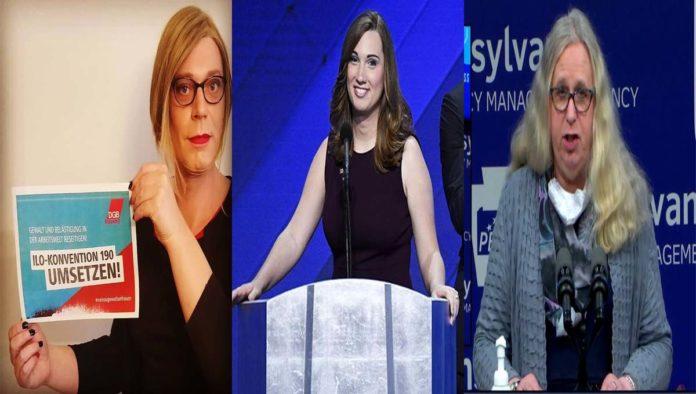 Teresa Ganserer, Sarah McBride y Rachel Levine