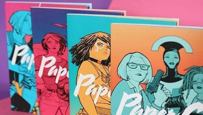 Libros de paper girls