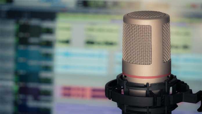 Micrófono para hacer podcasts