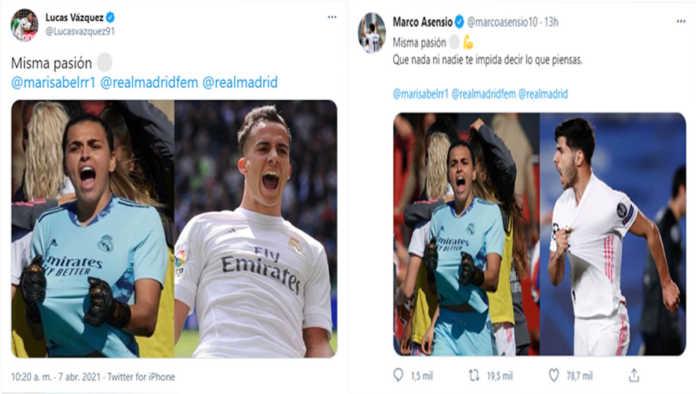 La portera Misa Rodríguez recibe apoyo en redes tras insultos machistas en Twitter