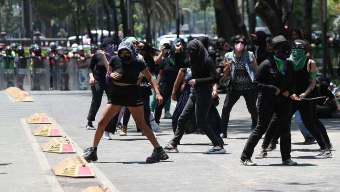 Protesta de feministas