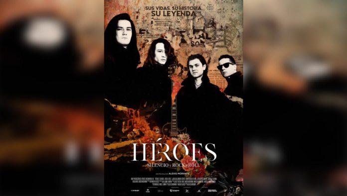 Póster del documental de Héroes del Silencio