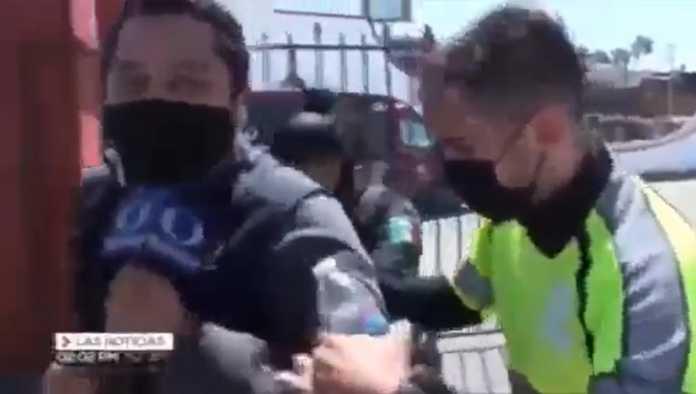 Reportero de Televisa detenido