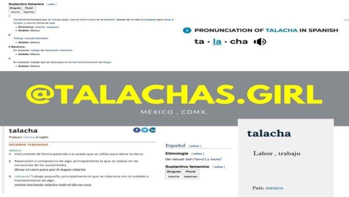 Logo de Talachas girl