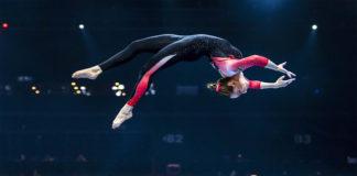Sarah Voss, gimnasta profesional