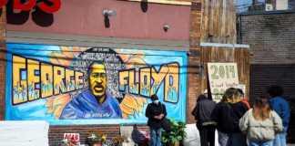 Mural dedicado a George Floyd