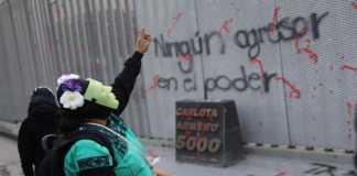 Protesta por la violencia contra las mujeres