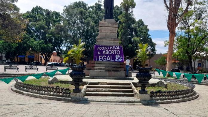 Exigen en Oaxaca acceso real al aborto seguro