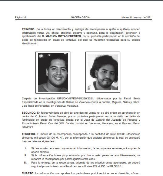 Ficha de recompensa por Marlon Botas
