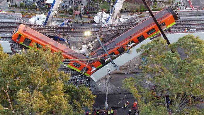 Accidente línea 12 del Metro de la CDMX