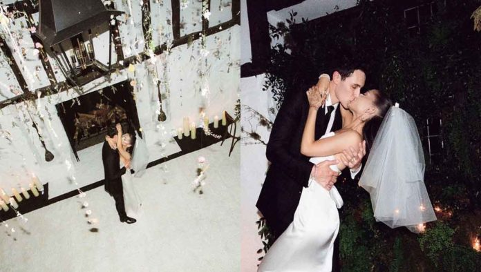 Fotos boda de Ariana Grande
